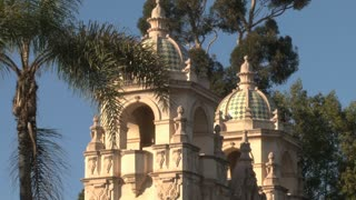 Museum of Man Dome Tower Balboa Park