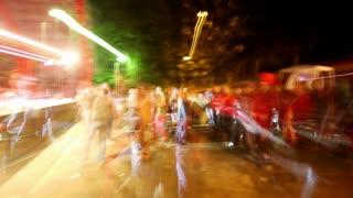 Music Festival Streetside