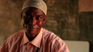 Muslim Man in African Village 1