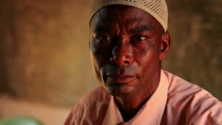 Muslim Man in African Village 2