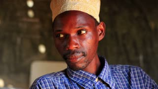 Muslim Man in African Village 3