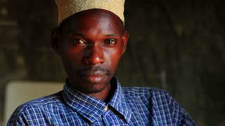Muslim Man in African Village 4