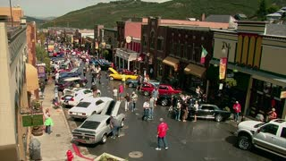 Mustang Car Show Wide Shot