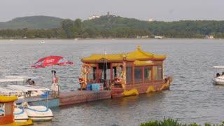 Nanjing Lake Boat