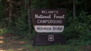 National Forest Campground McKenzie Bridge