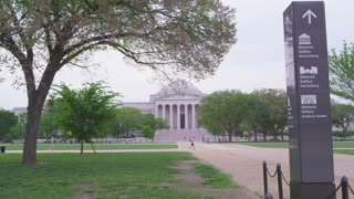 National Mall with museum in background