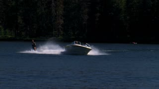 National Parks Lake Water Ski