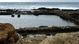Natural Pool On Coast