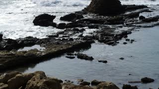 Natural Pool On Coastline