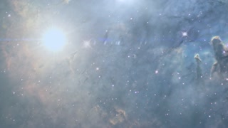nebula space background animation