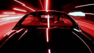 Negative POV Driving Timelapse