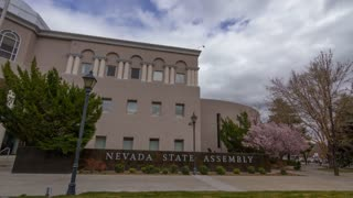 Nevada Legislature Building Motion Time Lapse