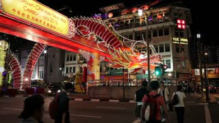New Bridge Road, Chinatown, Chinese New Year Celebrations, Singapore, South East Asia
