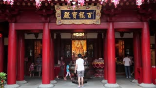 New Buddha Tooth Relic Temple and Museum on South Bridge road in Singapore, South East Asia
