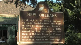 New Orleans Origin Sign