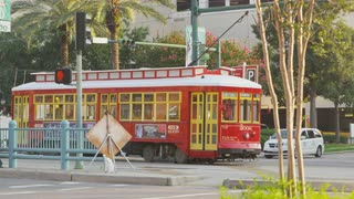 New Orleans Red Car Trolley