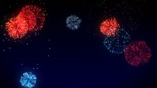 New Year's Fireworks Animation