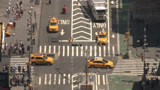 New York City Busy Intersection 2