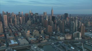 New York City Early Morning Skyline