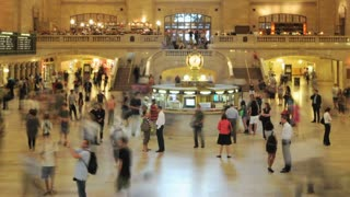 New York City Grand Central Timelapse