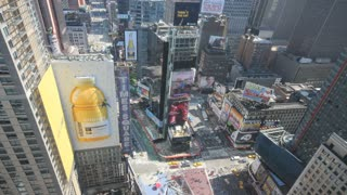 New York City Times Square Timelapse 4