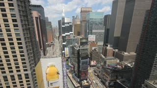 New York City Times Square Timelapse