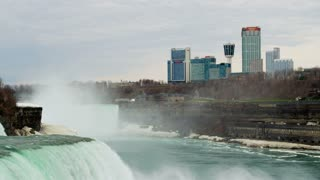 Niagara Falls City Waterfall View