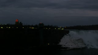 Niagara Falls Night Pan