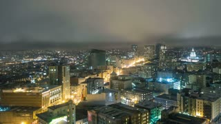 Night San Fransisco Time Lapse