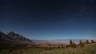 Night Stars Sky Time Lapse