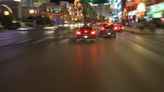 Night Vegas Streetlapse