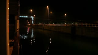 Night View of Romanian Bridge