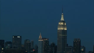 Nightime Empire State Building