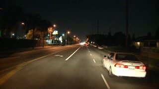 Nighttime Cali Driving TL
