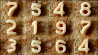 Number Toast