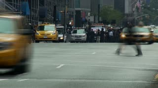 NYC Cabs Traffic Timelapse