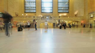 NYC Grand Central Terminal Timelapse