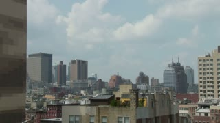 NYC Skyline Cloud Timelapse