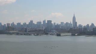 NYC Skyline Panning 2
