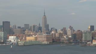 NYC Skyline Panning