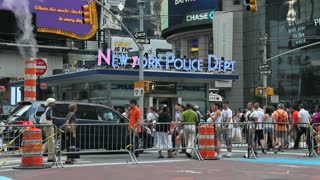 NYPD in Times Square