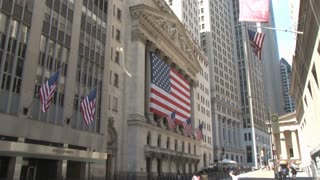 NYSE American Flags Zoom In