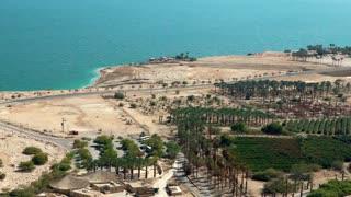 Oasis Near Dead Sea at Ein Gedi