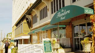 Ocean City Flanders Hotel Entrance