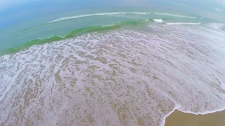 Ocean Tide Rolling Waves Aerial