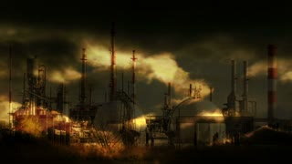 oil factory station. industry business. industrial background