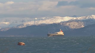 Oil Tanker By Buoy