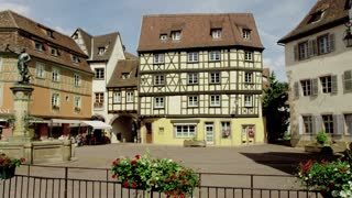 Old Buildings in Colmar, France