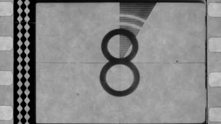 Old Film Reel Countdown
