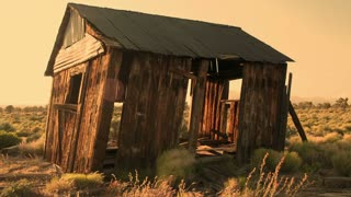 Old House Desert Timelapse